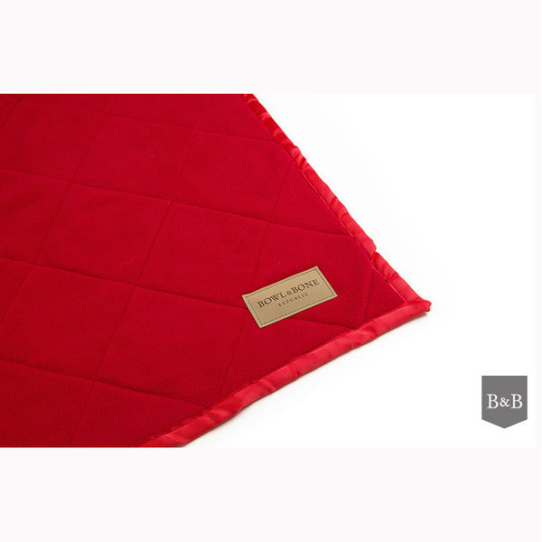 Royal Blanket Red & Navy - Jolly and Bea's - 2