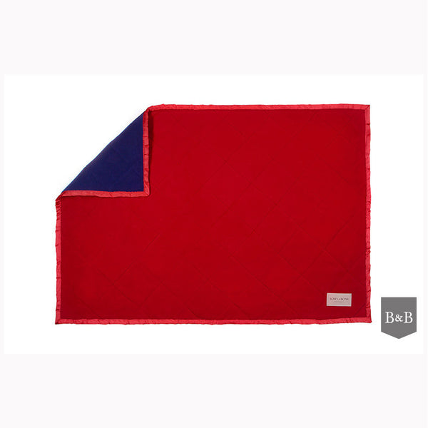 Royal Blanket Red & Navy - Jolly and Bea's - 1