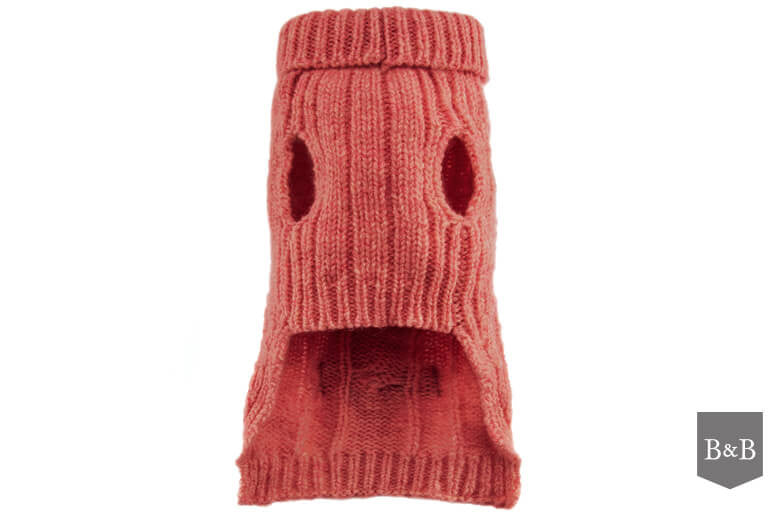 Aspen Pink Dog Pullover - Jolly and Bea's - 2