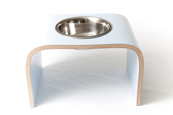 Single Bowl Raised Dog Bowl Holder - Jolly and Bea's