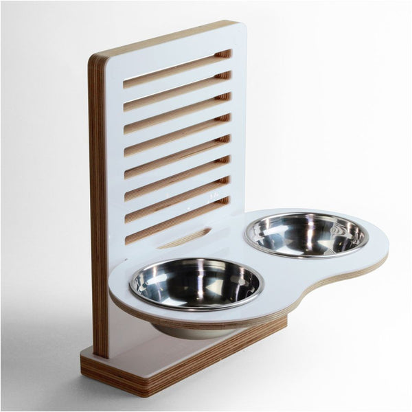 Wall-Nut Floor Wall mounted pet dish - Jolly and Bea's - 1