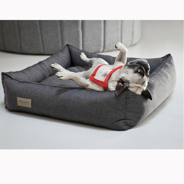 Urban Brown Dog Bed - Jolly and Bea's - 2