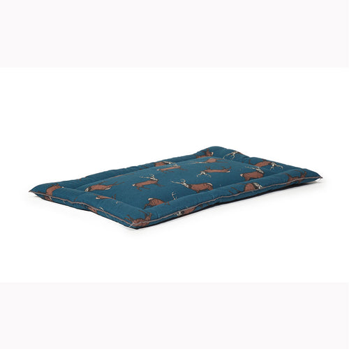 Woodland Stag Dog Crate Mattress - Jolly and Bea's - 2