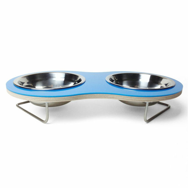 Peanut Medium Dog Bowl (Blue) - Jolly and Bea's - 2