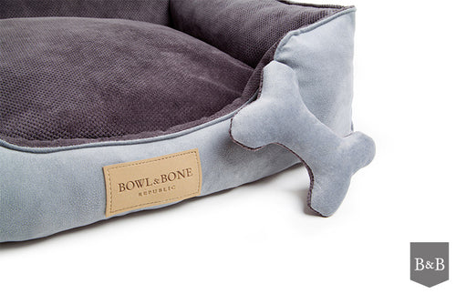 Classic Grey Dog Bed - Jolly and Bea's - 2