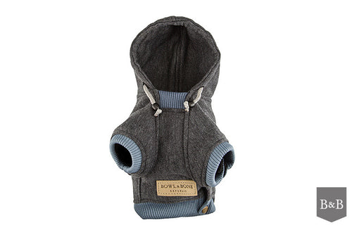 Grey YOLO Dog Hoodie - Jolly and Bea's - 2