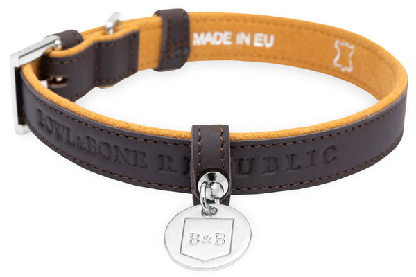 Dog Collar Monaco Chocolate