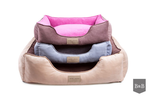 Classic Brown Dog Bed - Jolly and Bea's - 2