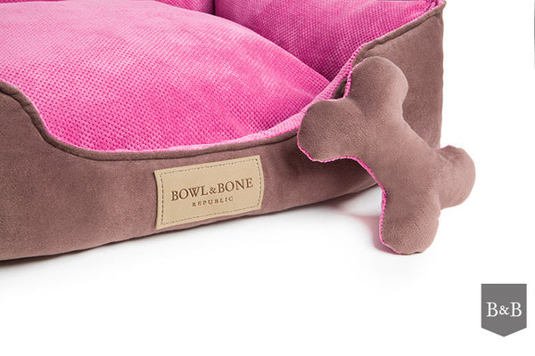 Classic Pink Dog Bed - Jolly and Bea's - 4