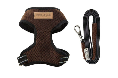 Brown Candy Dog Harness