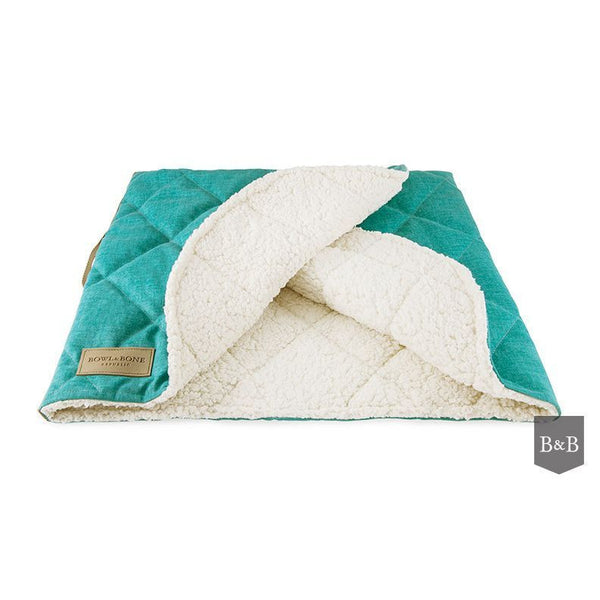 Dreamy Mint Dog Blanket - Jolly and Bea's - 1