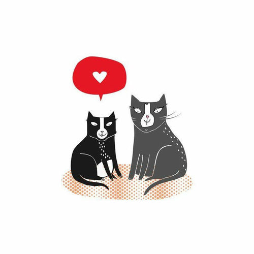 Love Cats Cat Card - Jolly and Bea's