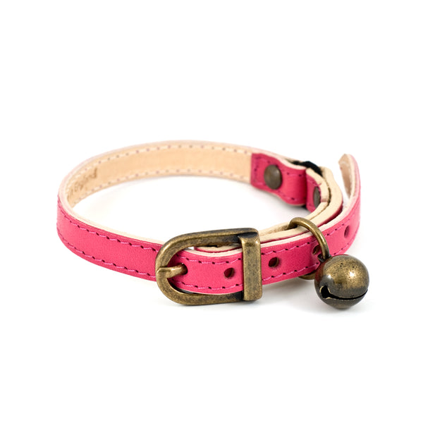 Linny Fuschia Cat Collar