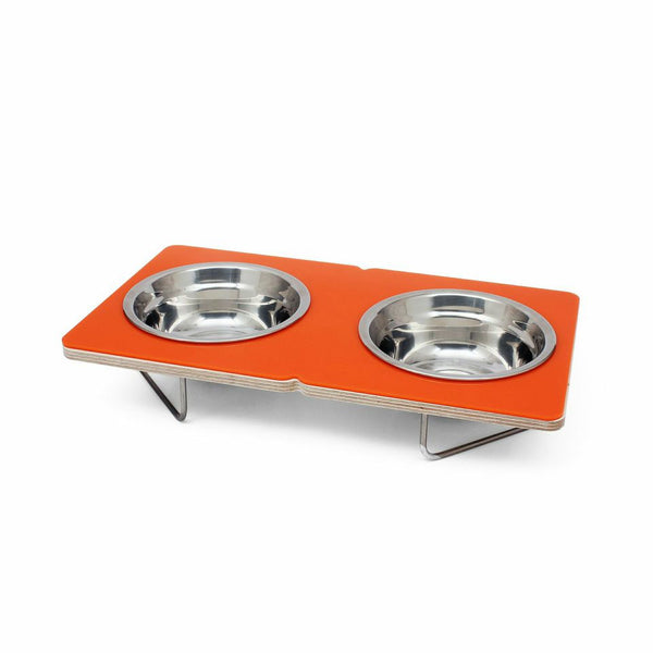 Boxer Dog Bowl in Orange - Jolly and Bea's - 2