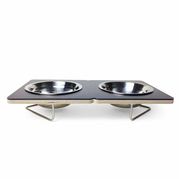 Boxer Medium Dog Bowl in Black - Jolly and Bea's - 2