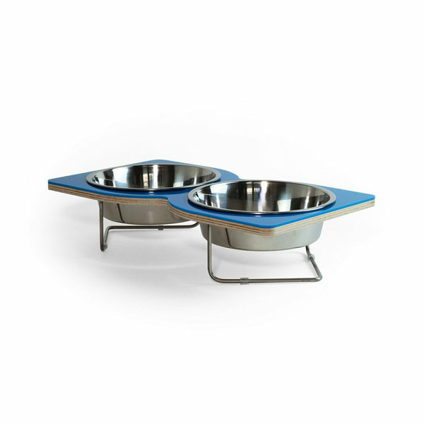 Twist Pet Bowl (Blue) - Jolly and Bea's - 1
