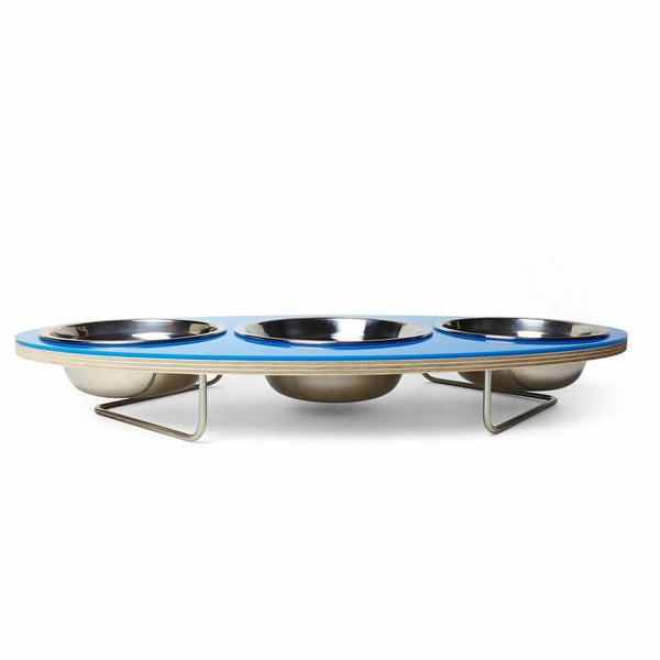 Ellipse Petbowl in Blue - Jolly and Bea's - 3
