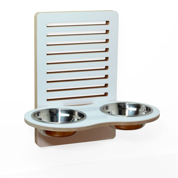 Wall-Nut Floor Wall mounted pet dish - Jolly and Bea's - 2