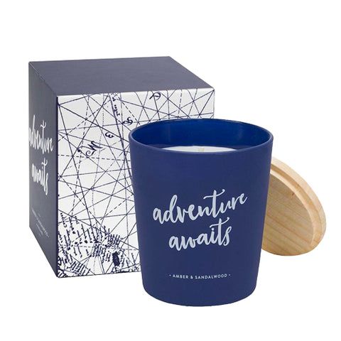 Adventure Awaits Candle