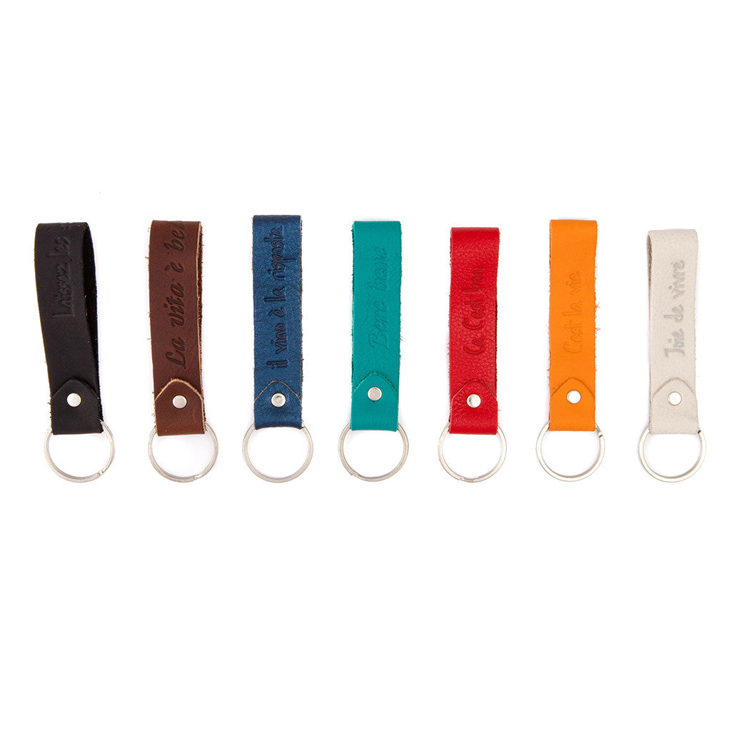 Geniune Leather Keychain
