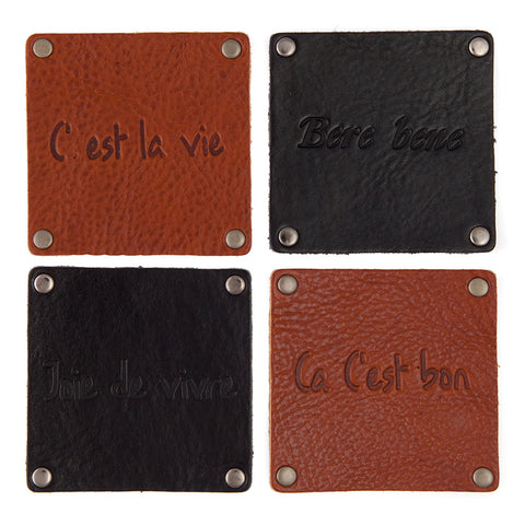 Geniune Leather Coaster