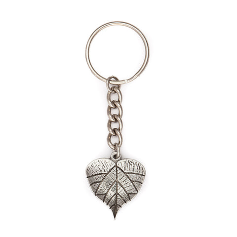 Grape Leaf Keychain