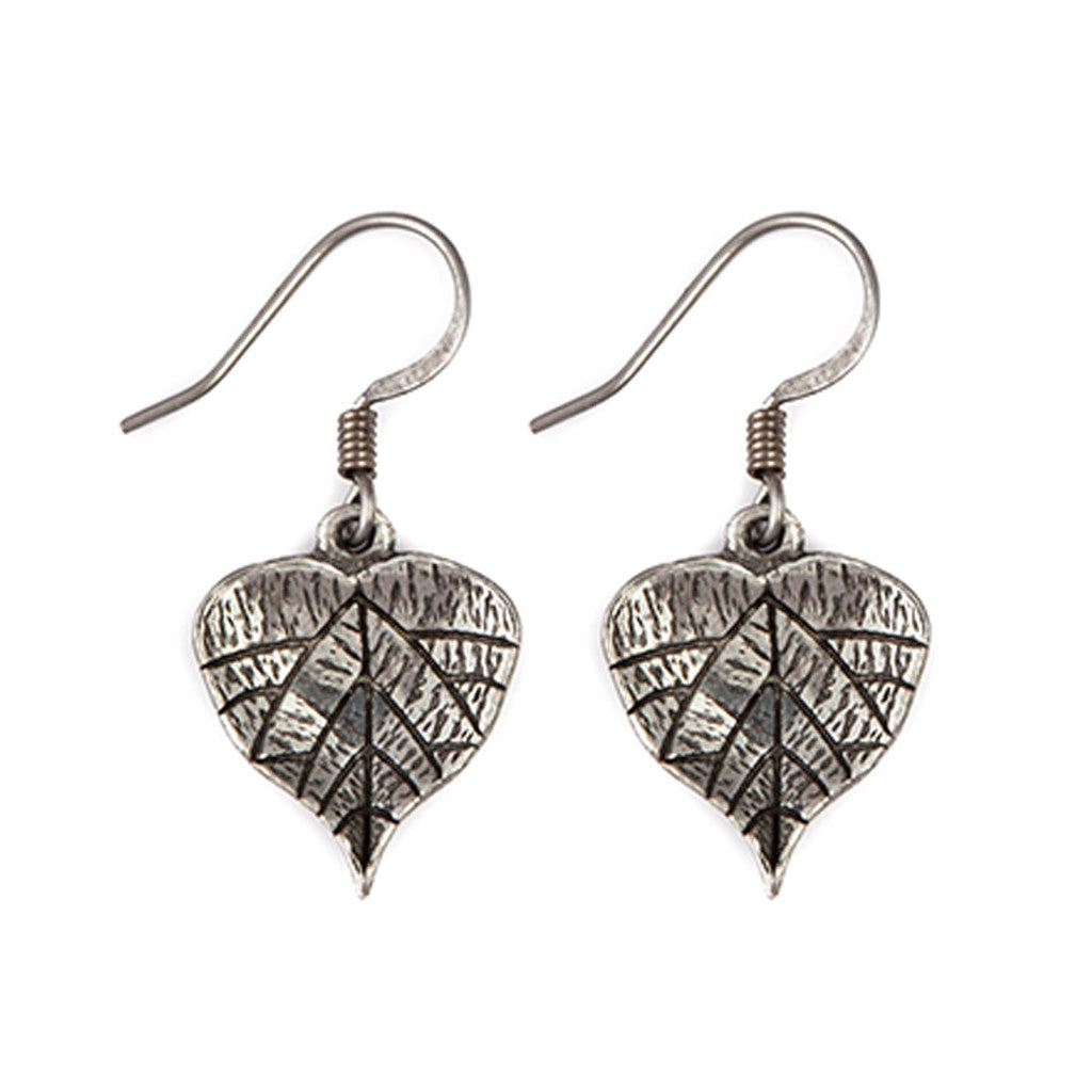 Grape Leaf Earrings