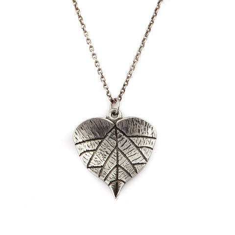 Grape Leaf Necklaces
