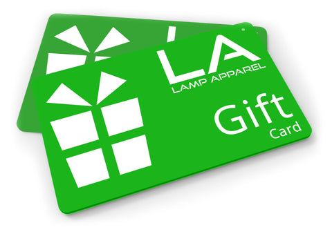 Lamp Apparel Gift Card