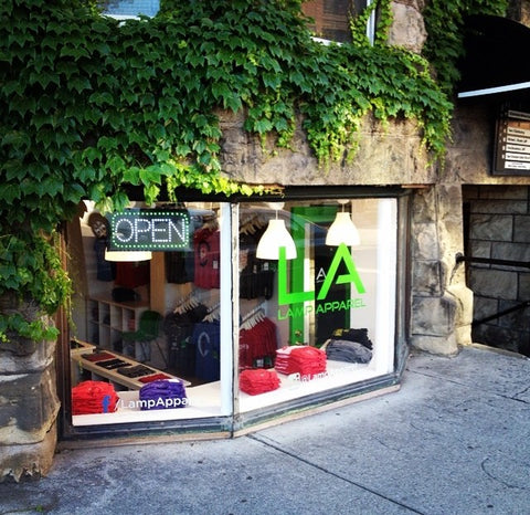 Lamp Apparel Storefront