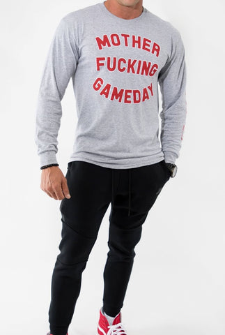Mother Fucking Gameday Long Sleeve