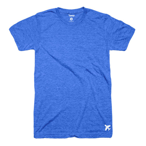 Royal Blue Plane Tee