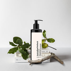 Australian outback wash product styling