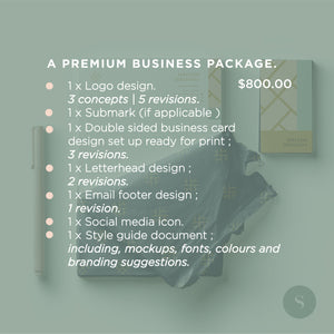 premium business package iamsali design