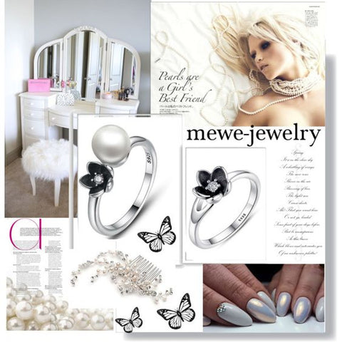 Silver Rings | Perfect Rings for Perfect Girls By Mewe-jewelry.com