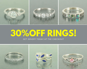 30%OFF RINGS TODAY