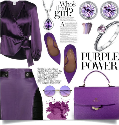 Power of purple | jewelry @ mewe-jewelry