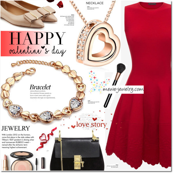 Happy valentine's  Date Night mewe jewelry