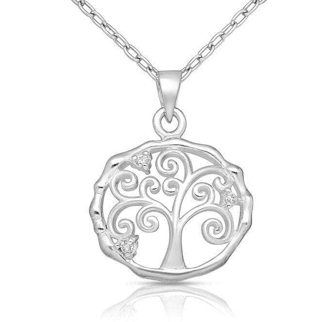 Sterling Silver Life Tree Necklace