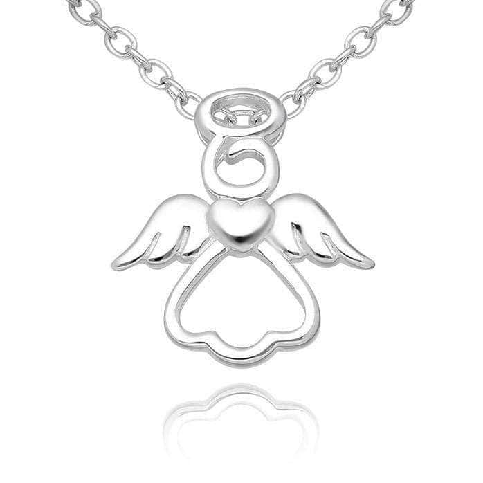 Silver Angel Necklace