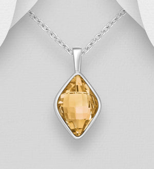 Bond Swarovski Golden Shadow Necklace