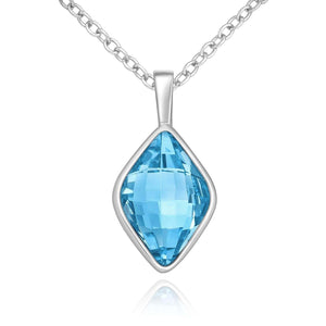Bond Swarovski Aqua Necklace
