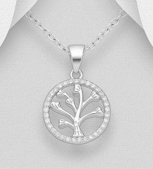 Circle Tree of love Necklace