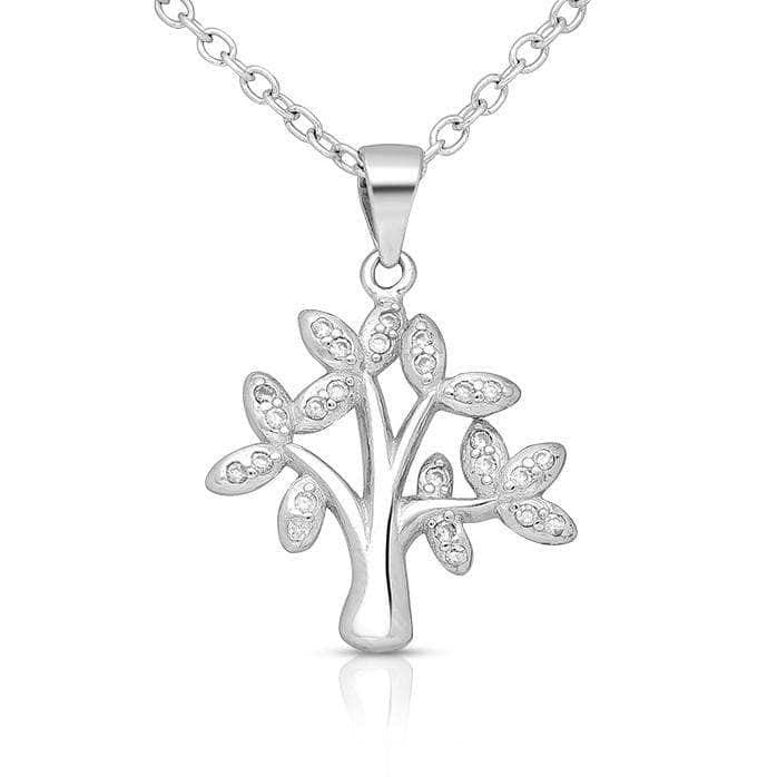 Cluster Tree Of Love Necklace