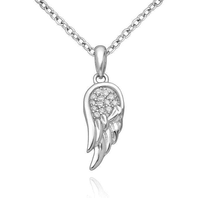Silver Wing Necklace