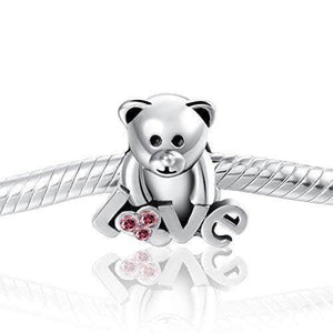 Teddy Love Charm
