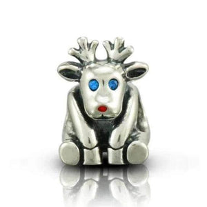 Silver charms | Silver Reindeer Bead Charm (501159002147)