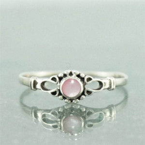 Silver Rings-Sterling Silver Shell Ring