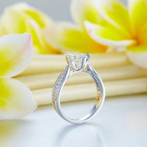 14K White Gold 1 Carat Forever Ring