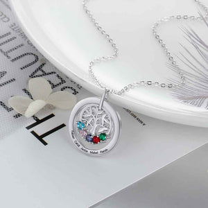 Necklace | Family Tree Necklace